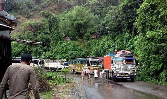 Assam-Mizoram boundary