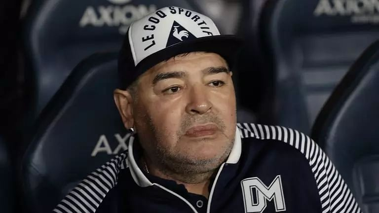 Diego Maradona admitted to hospital