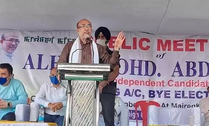 Manipur CM N. Biren Singh challenges Congress to prove him a liar