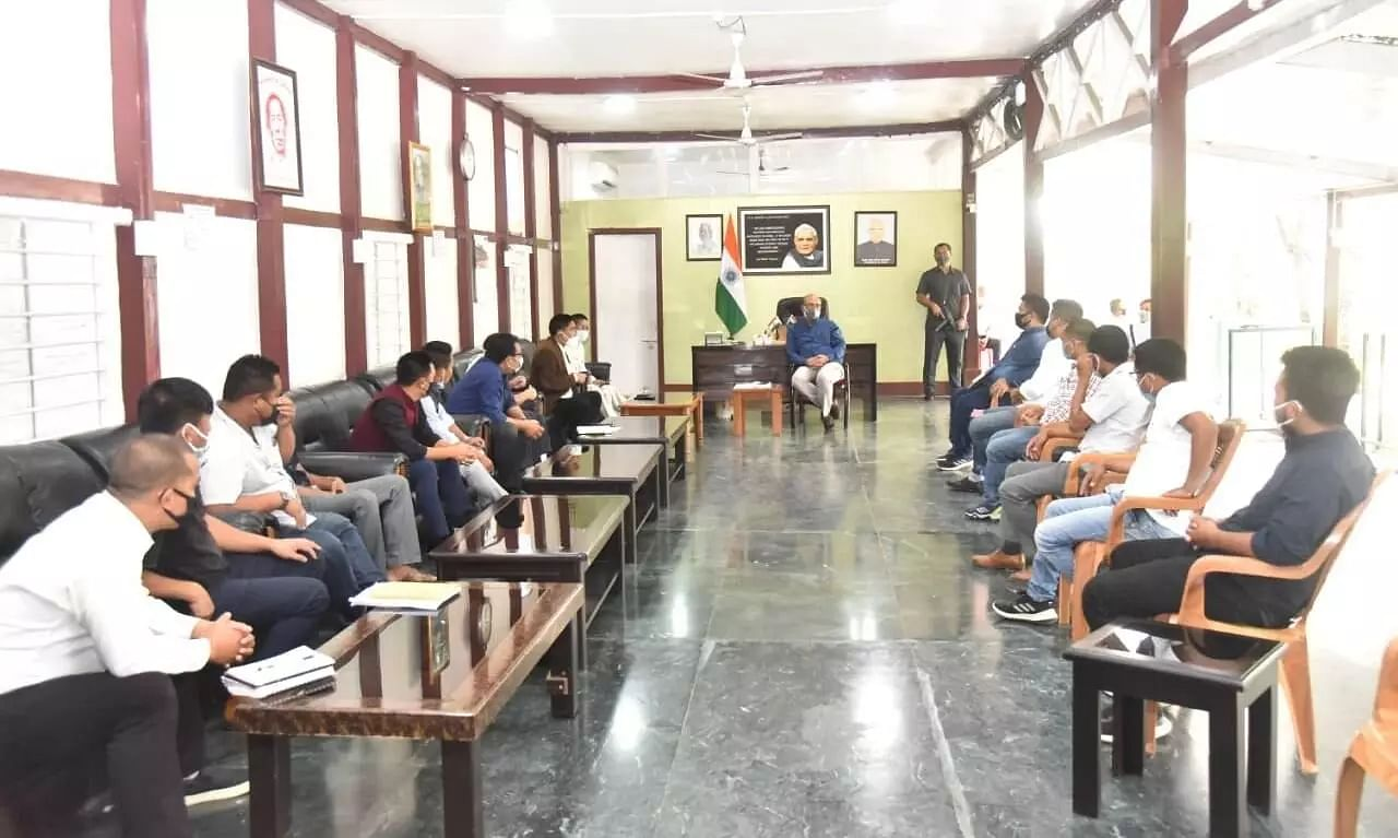Manipur Tribal Students Union agrees to call off 48-hr bandh after meeting with CM N Biren Singh