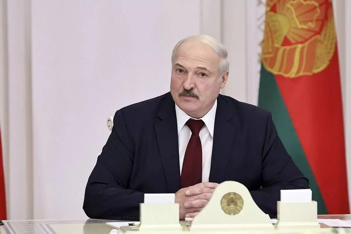 European Union sanctions Belarus President Alexander Lukashenko