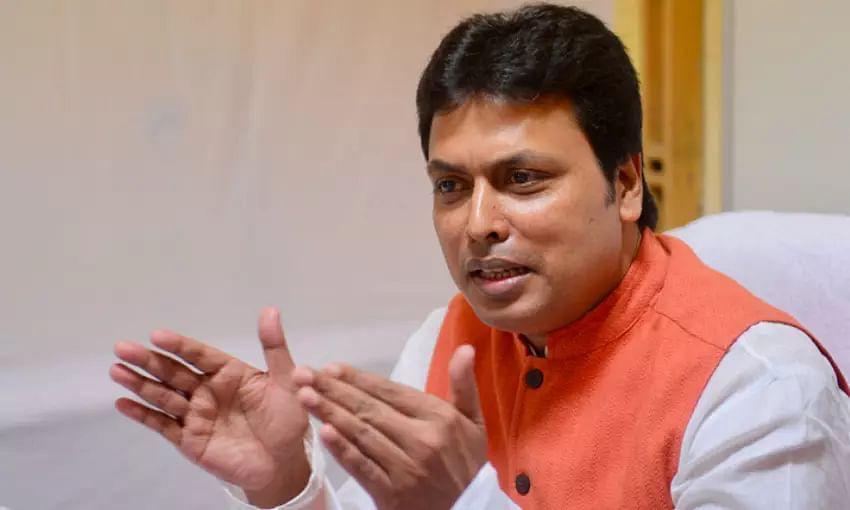Tripura journalists boycott CM Biplab Kumar Deb