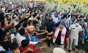 Himanta Biswa Sarma full of praise for Udalguri