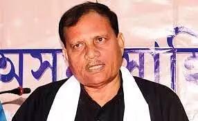 Fmr Assam Sahitya Sabha president Paramananda Rajbongshi joins AGP