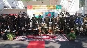 India gifts horses, dogs to Bangladesh Army
