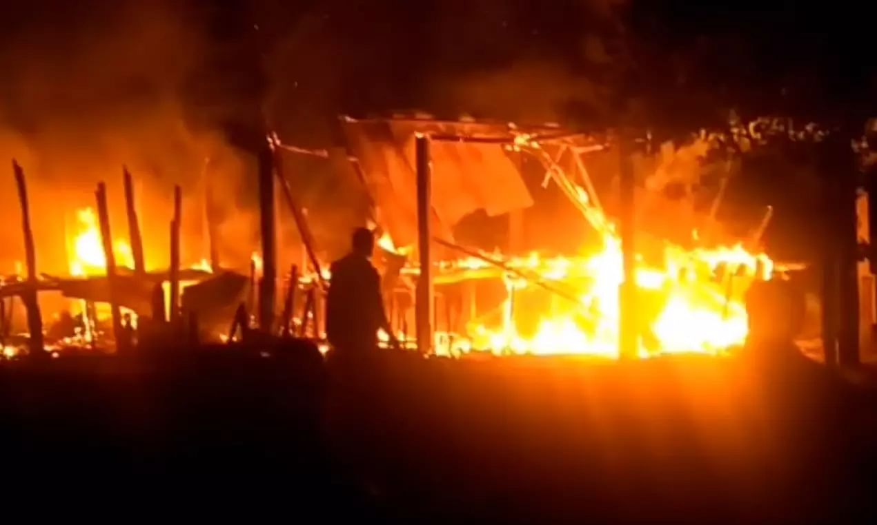Diwali disaster: Two fire incidents reported from Dhemaji, Assam
