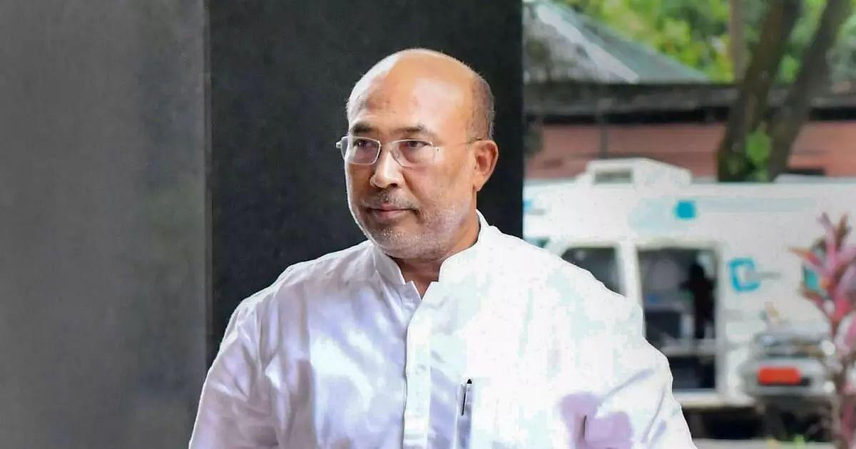 Manipur CM N Biren Singh test positive for COVID-19