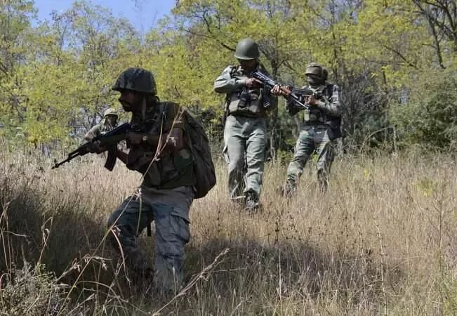 Four terrorists shot down in encounter at Nagrota in Jammu and Kashmir