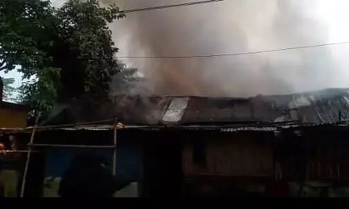 Massive fire in Jorhat, 20 houses gutted