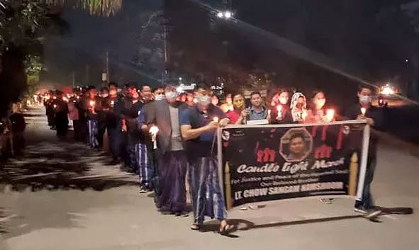 Candlelight March