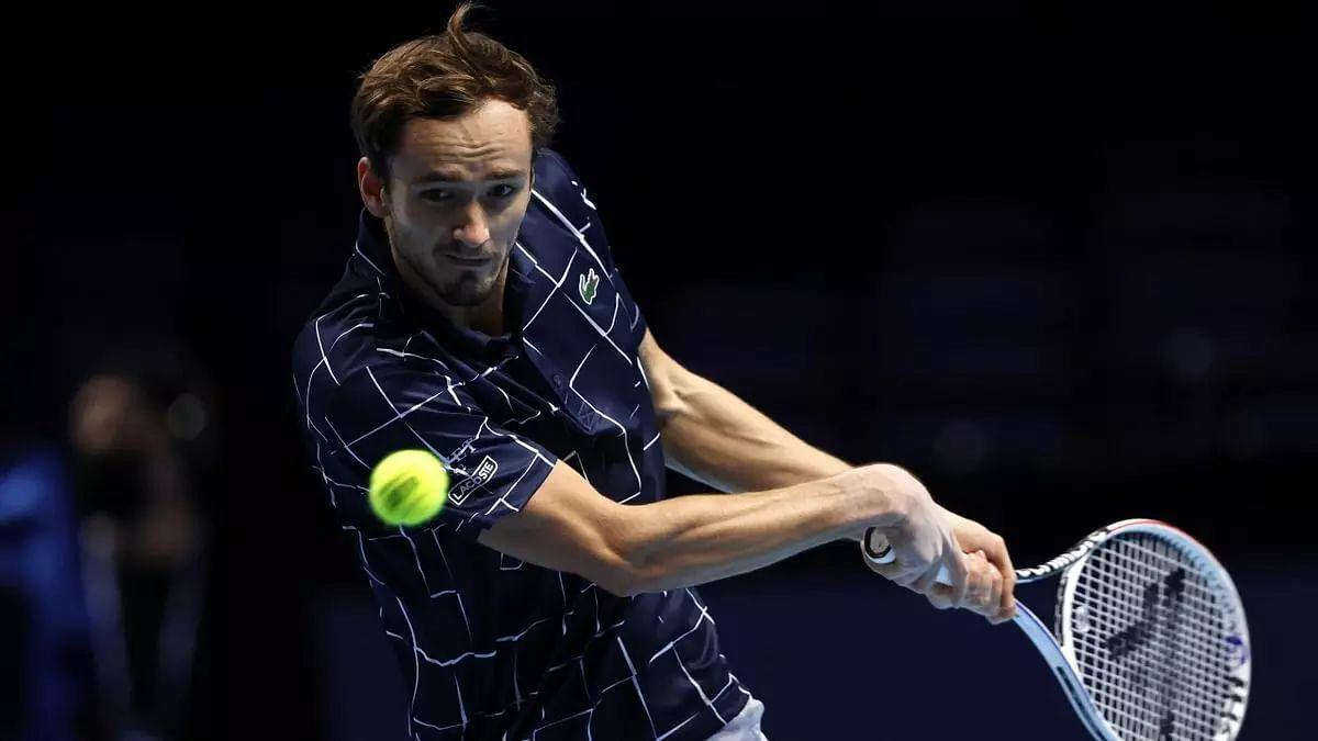 Daniil Medvedev beats Schwartzman in ATP finals