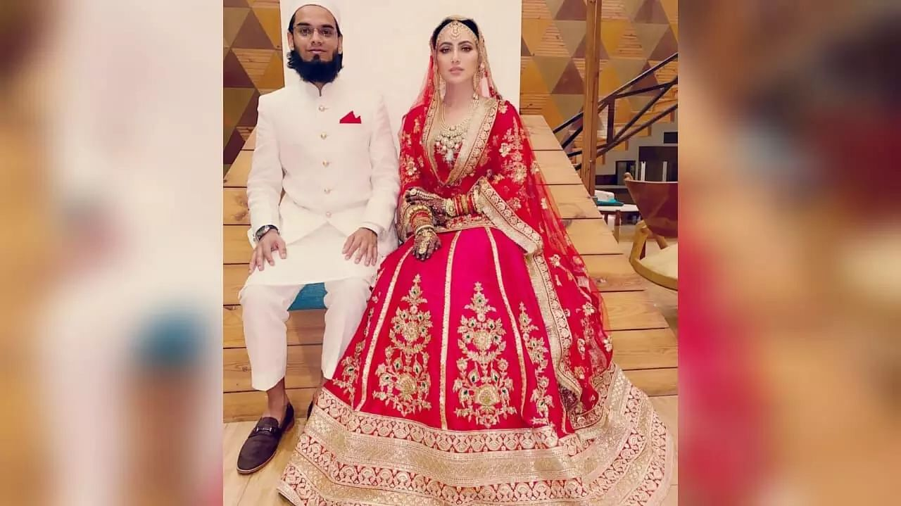 Former Bollywood actor Sana Khan marries Gujarat-based Mufti Anas