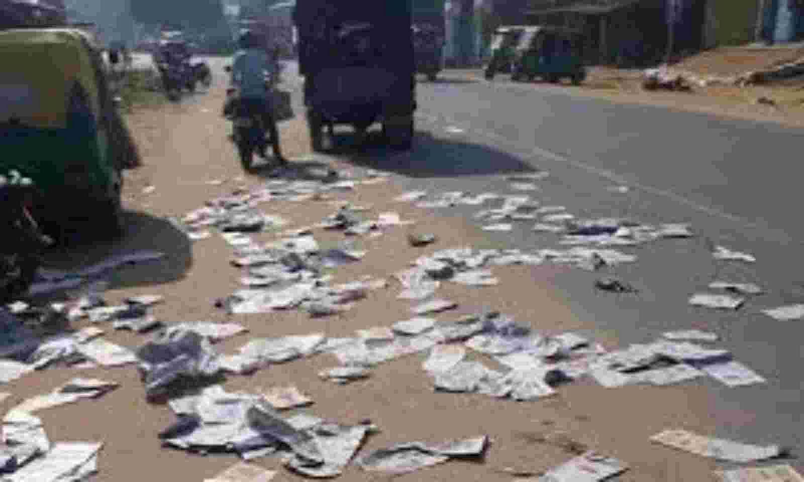 Did Exposure Of Rs 150 Crore Scam Lead To Protest Against Newspaper In Tripura Sentinelassam