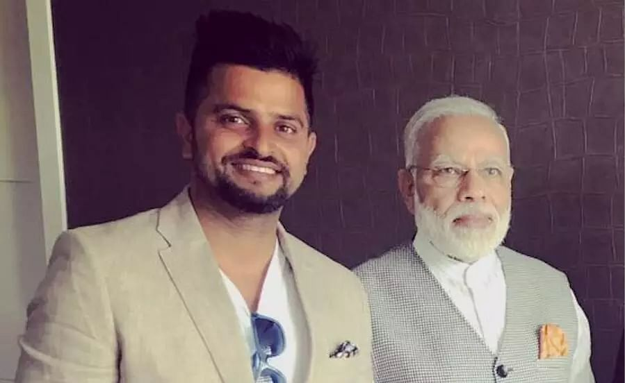 You are way too young and energetic to retire: After MS Dhoni, PM Modi pens tribute for Suresh Raina