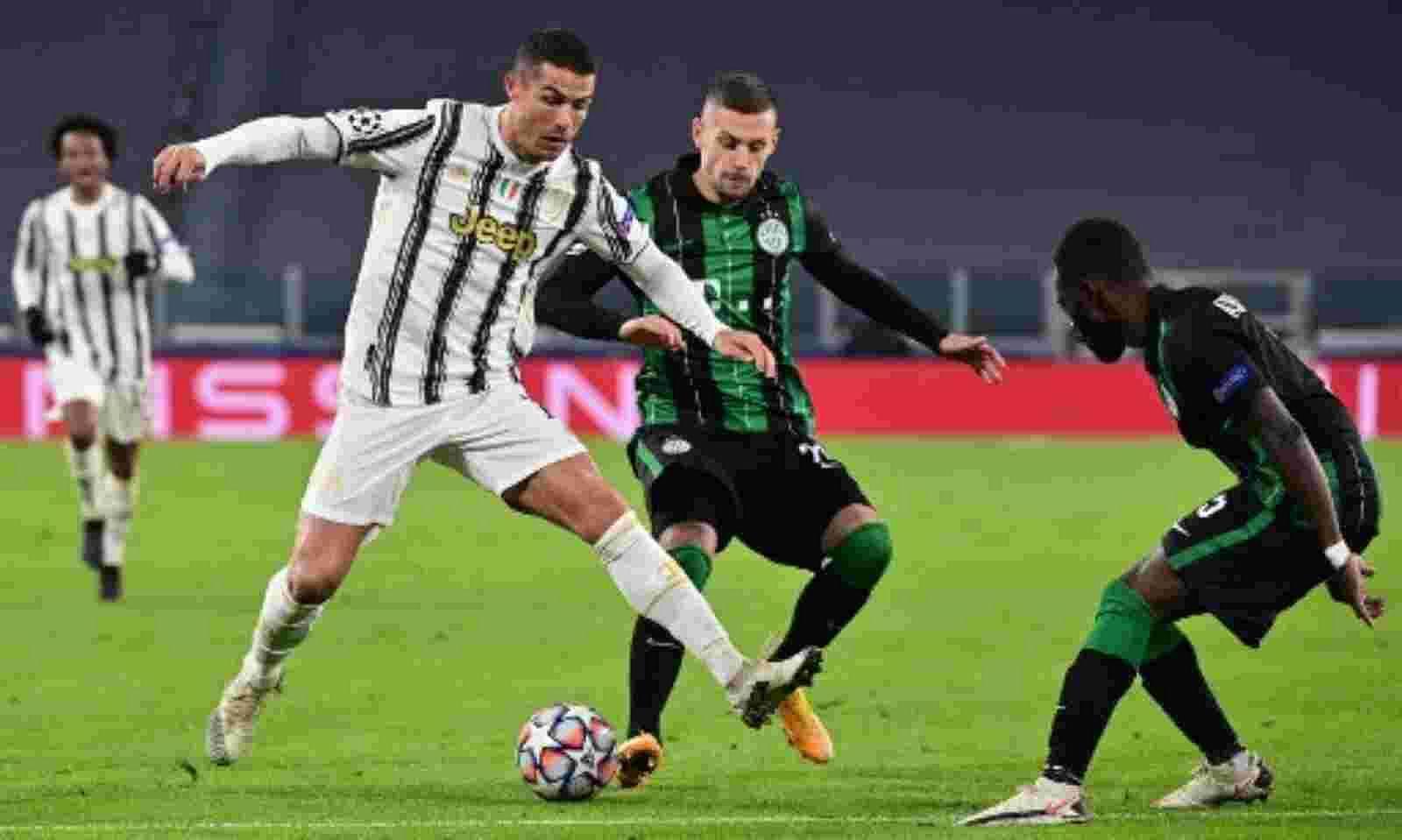 Juventus enter into last 16 with 2-1 win Ronaldo matches Messi's record -  Sentinelassam