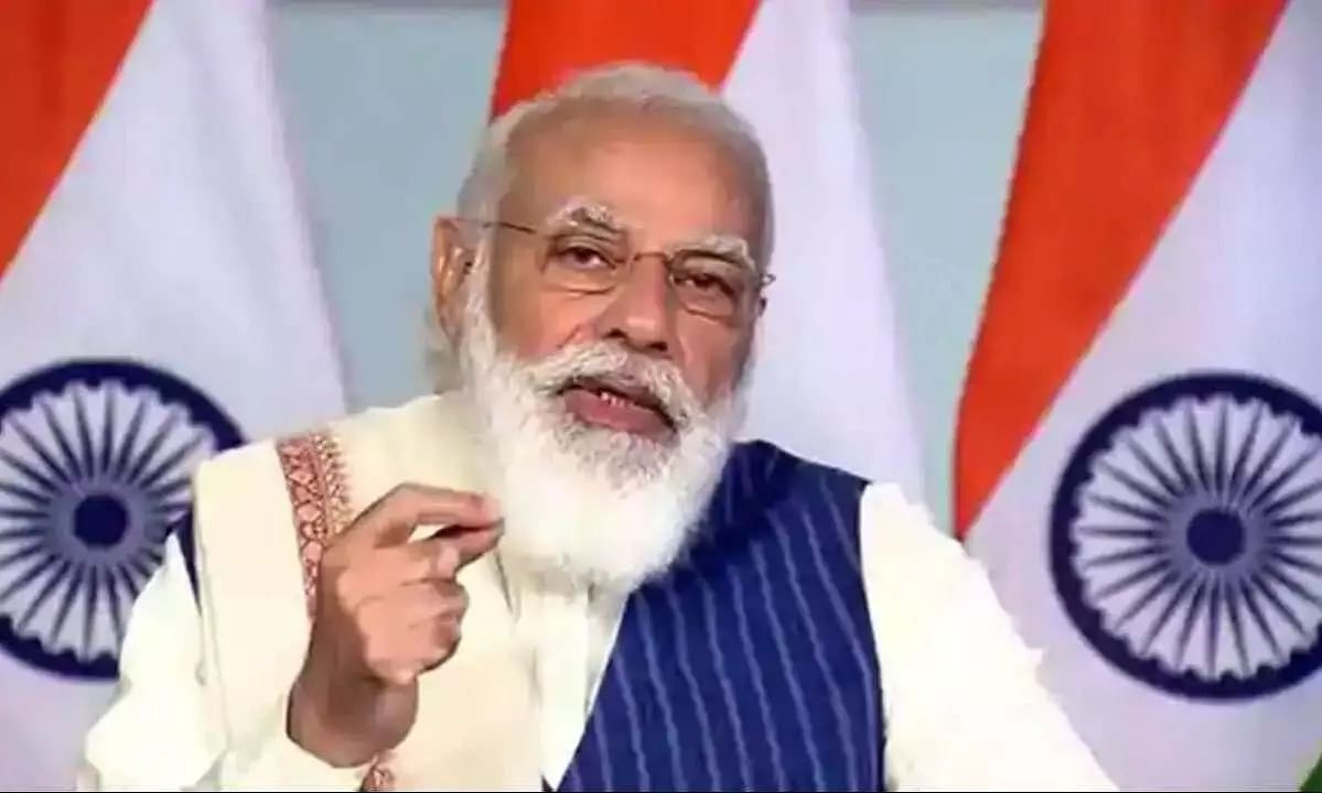 PM Modi attended centennial foundation day at Lucknow University