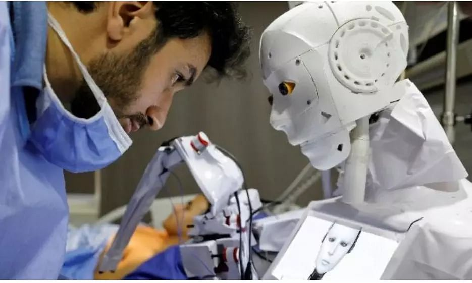 Robot conducts COVID-19 tests, blood tests. Surprised? Check here