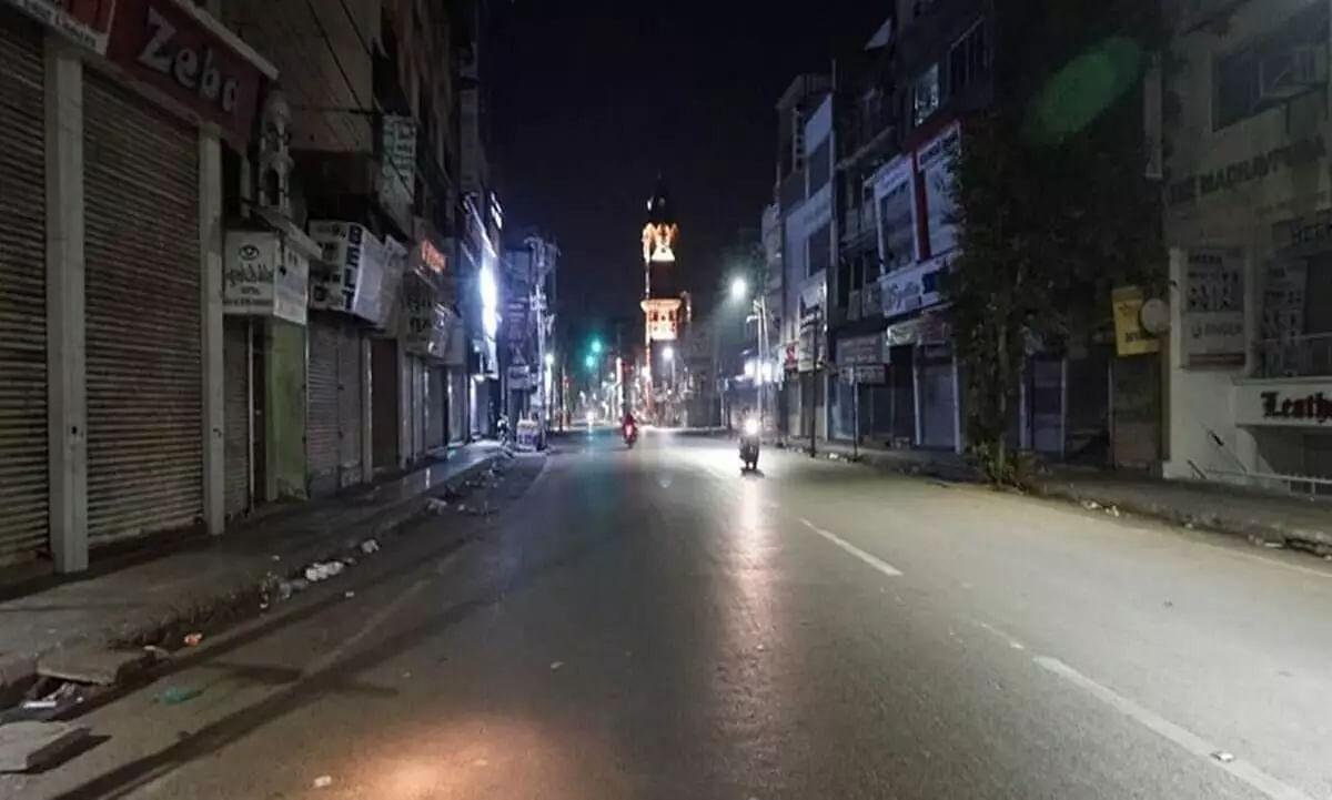 Night curfew imposed in Manipur till December 31, 2020