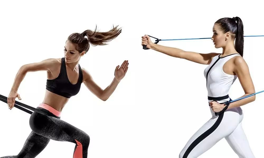 Ways to workout with resistance band