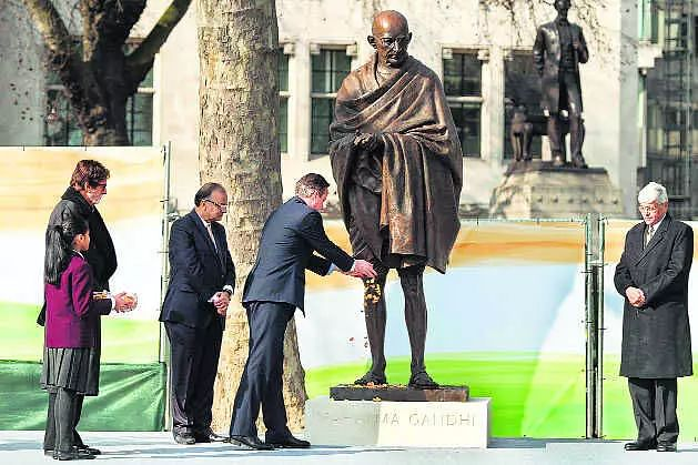 Gandhi, Churchill statues in UK could be toppled