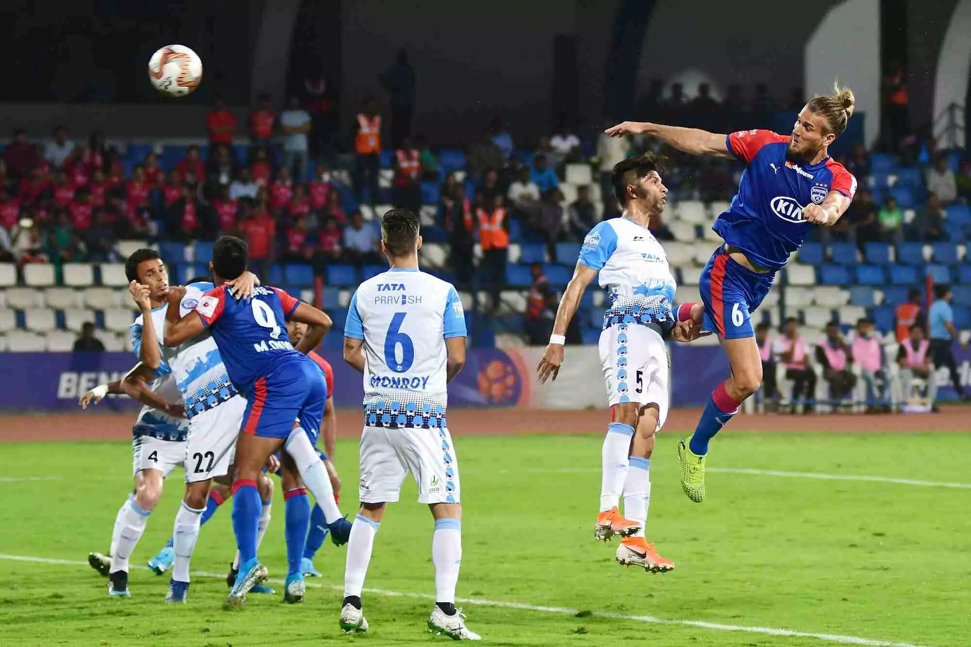 Jamshedpur look for first win when they play Hyderabad