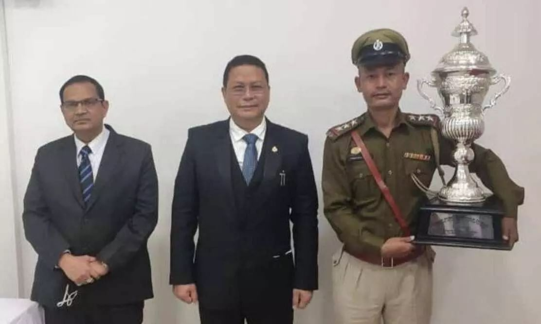 Manipur's Nongpok Sekmai police station selected as the best police station in the country