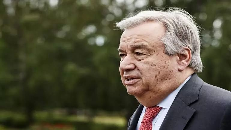 Farmers in India have right to demonstrate peacefully: Antonio Guterres spokesperson