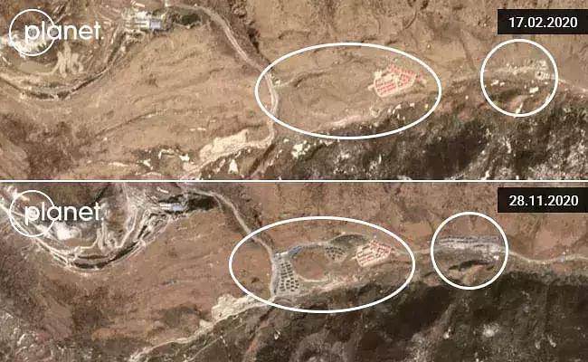 China constructs three villages near Arunachal Pradesh