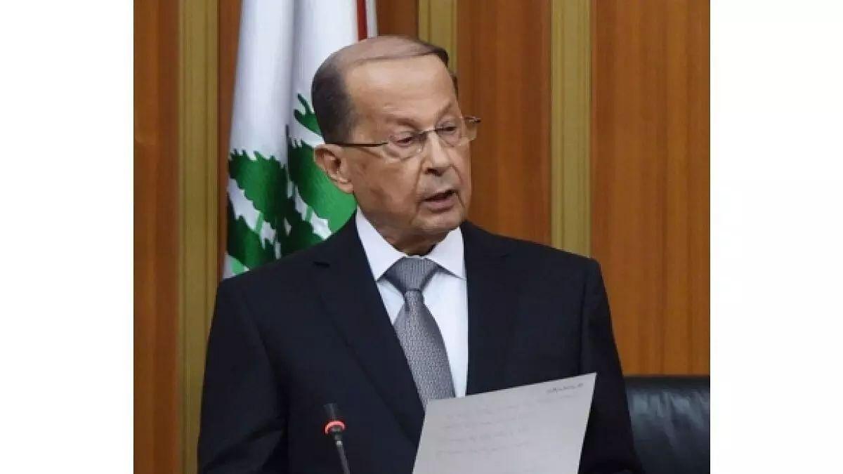 Lebanon will resort to international arbitration: Michel Aoun