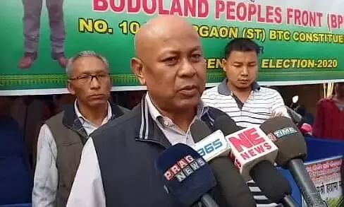 BPF Chief Hagrama Mohilary accuses BJP of rigging in phase I