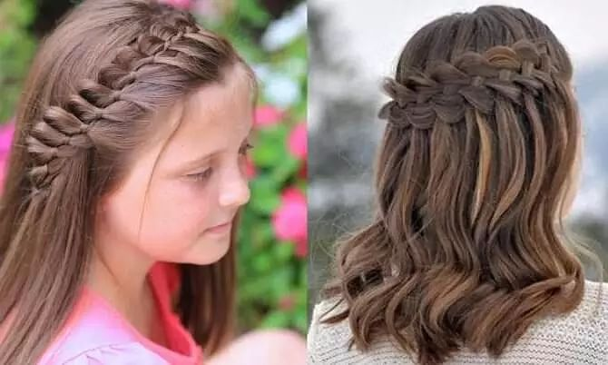Simple And Easy Hairstyle For Girls Sentinelassam