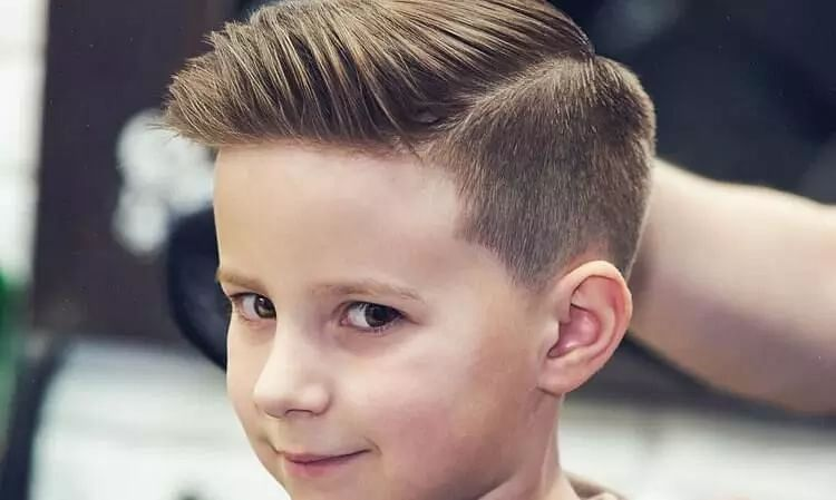 Classic hairstyles for kids (Boys)