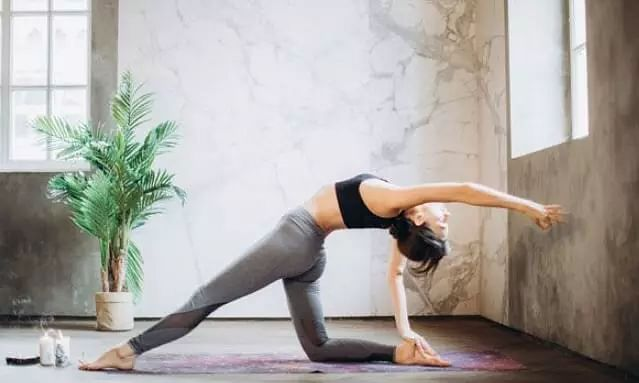 Yoga for firm face and glowing skin