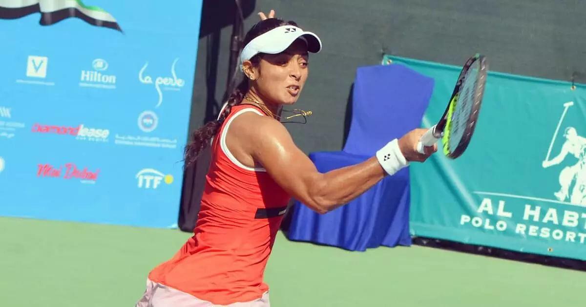 Ankita Raina wins ITF $100k doubles title in Dubai with Ekaterine Gorgodze