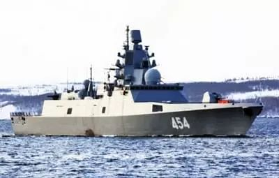 Russian Northern Fleet frigate test-fires hypersonic missile