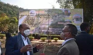 Manipur CM N Biren Singh's dream of water park in Manipur comes true, lays foundation stone