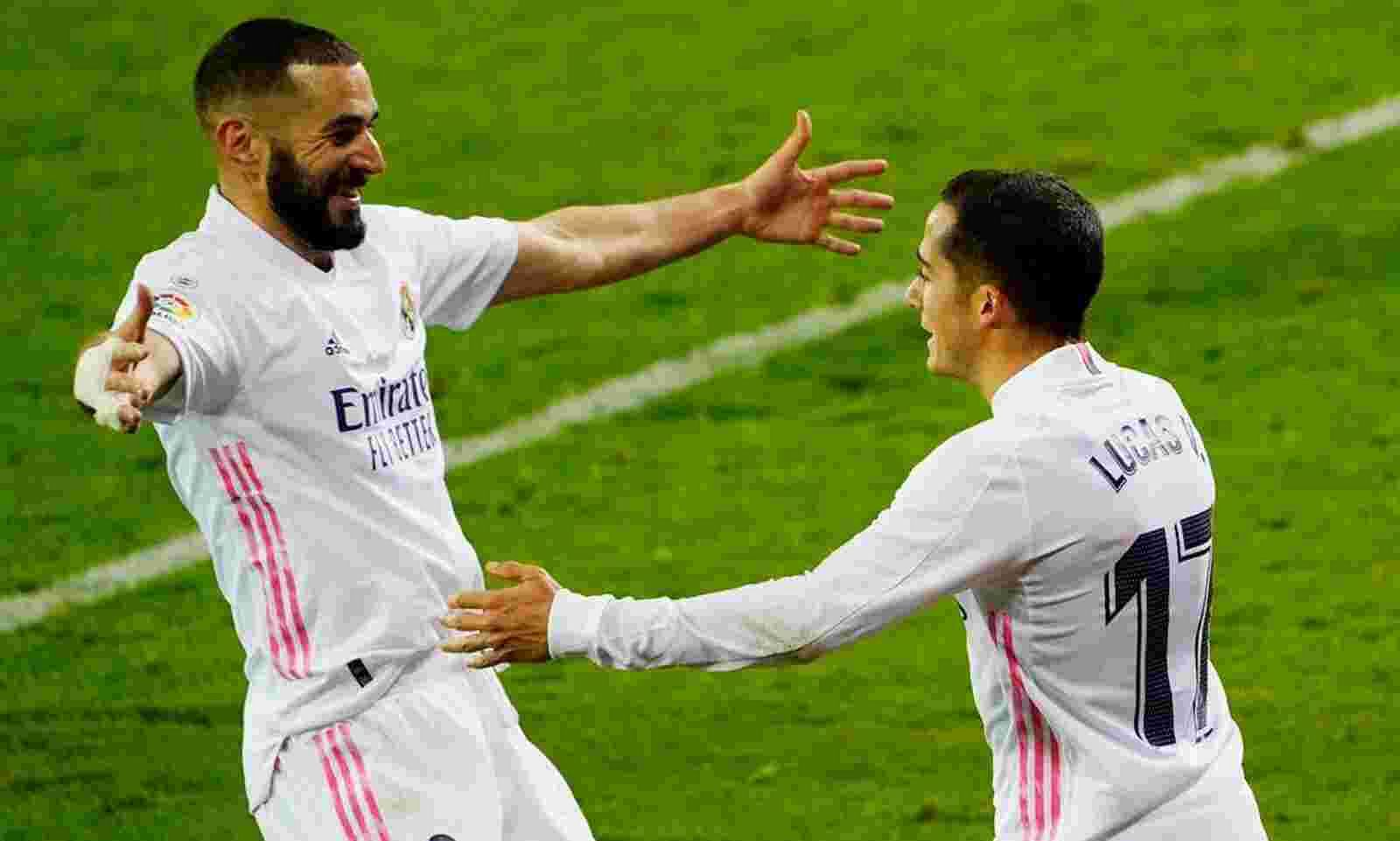 Karim Benzema helps Real Madrid win fifth game in a row - Sentinelassam