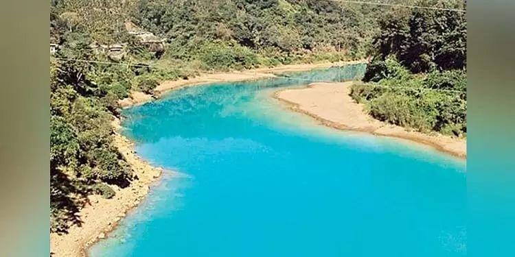 Meghalaya: KSU demands independent inquiry on blue-watered Lukha river