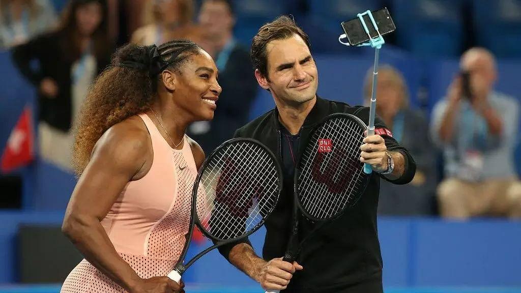 Tennis legends Serena Williams and Roger Federer confirm entry