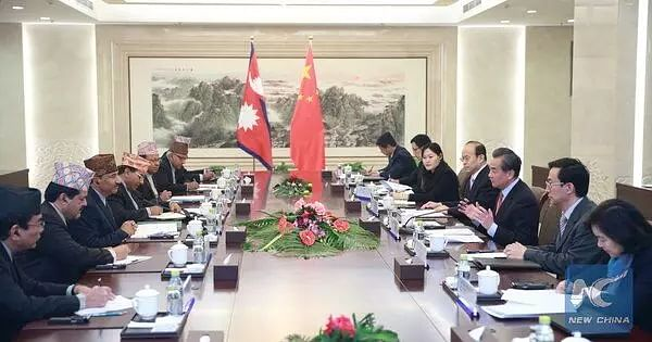 Chinese envoy holds talks with Nepals top leadership