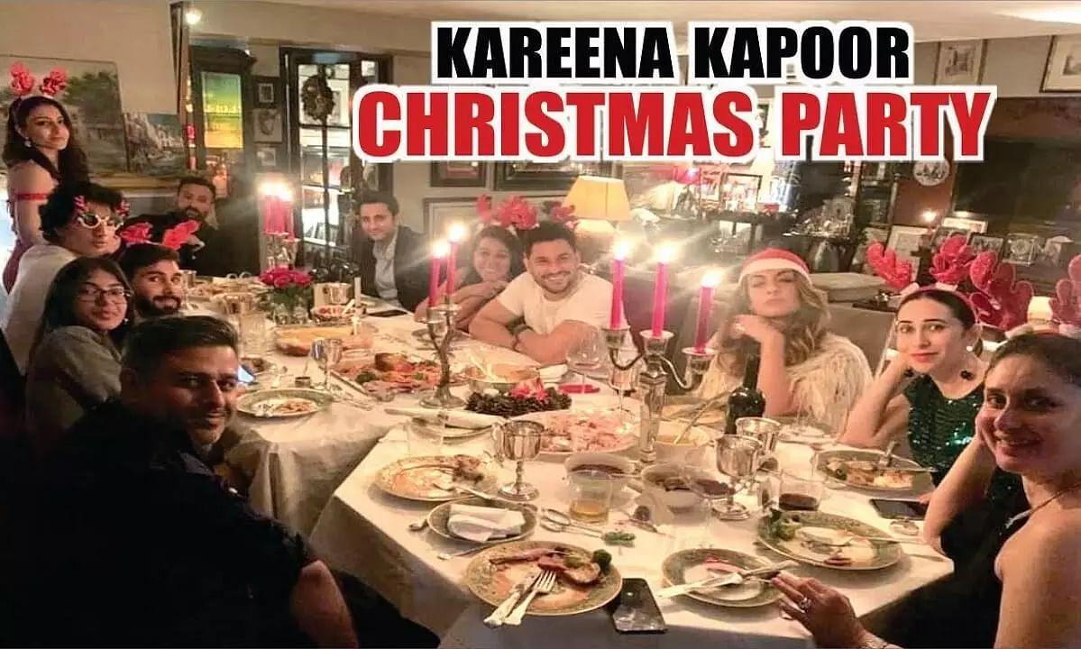 Kareena Kapoor, Saif Ali Khan celebrated Christmas Eve with friends, family