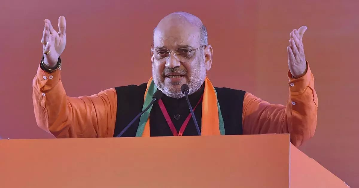 Union Minister Amit Shah flagged off a host of projects in Imphal, Manipur
