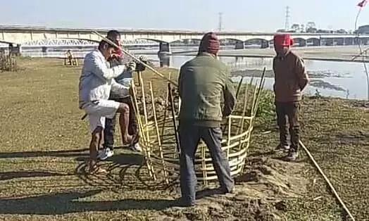 Cleanliness drive conducted near Jiya Bharali River bridge in Sonitpur, Assam