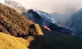 Dzukou Valley Wildfire Spreads to Manipur, Amit Shah Assures Support