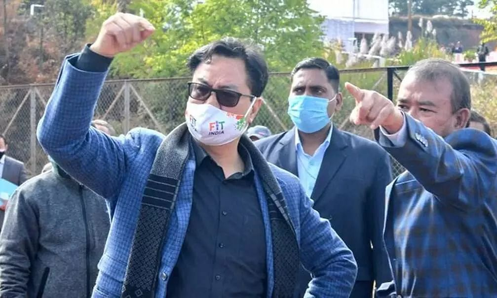 ILP is a Political Decision, Centre is Sensitive on the Issue: Kiren Rijiju
