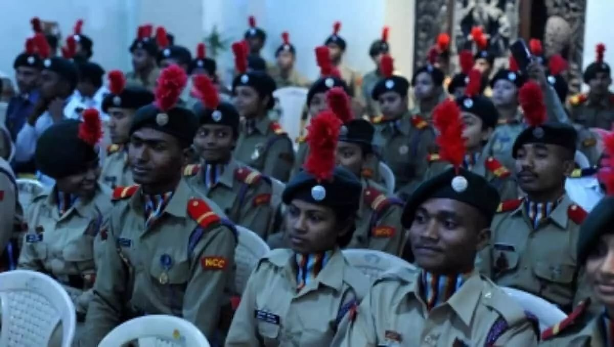 NCC training should be must in schools & colleges, says Corps Director General