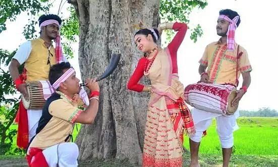 Moran is preparing for 'Bhogali Bihu'