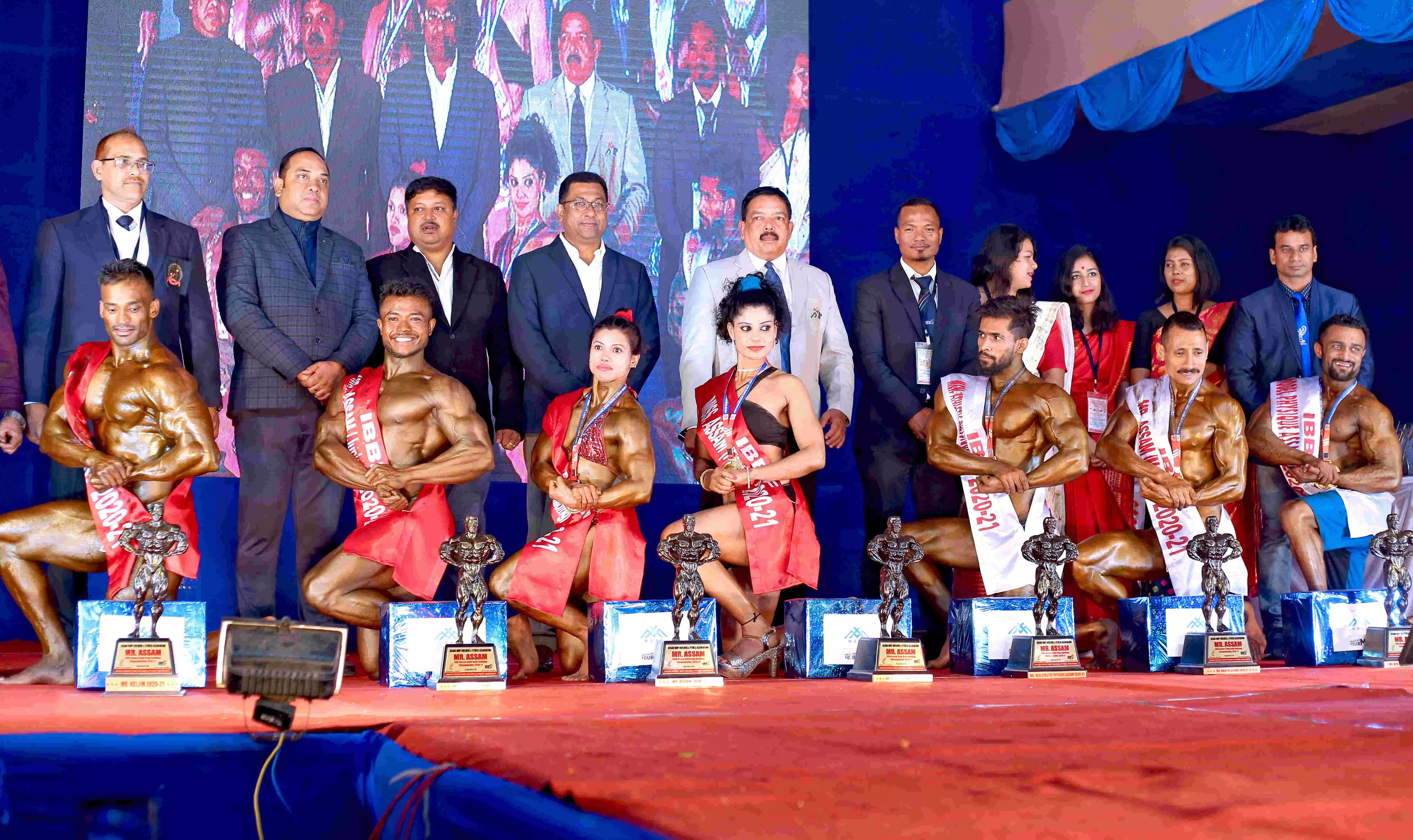 Nabajit Das bags Mr Assam Crown title in 48th Assam State Inter District Body Building Championship