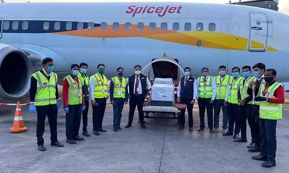 1st Covishield COVID-19 Vaccine Consignment from Pune to Reach Guwahati Today