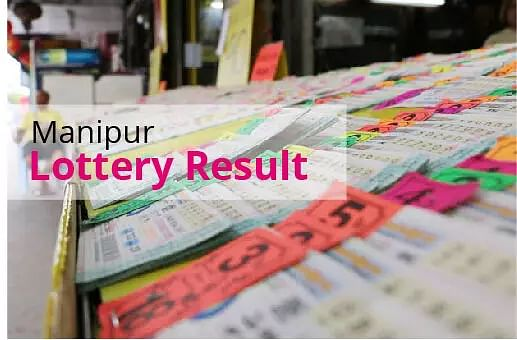 Manipur Lottery Results Today - 13 January21 - Manipur State Singam Morning, Evening Lottery Result